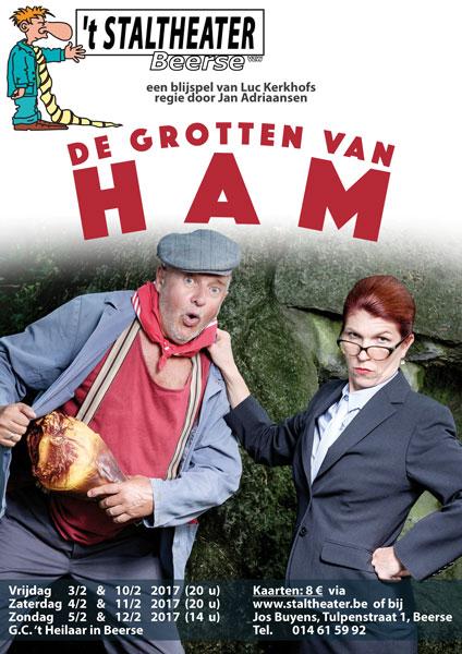 De Grotten Van Ham affiche