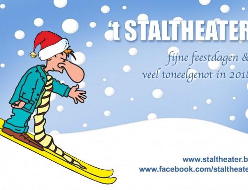 't Staltheater wenst je fijne feestdagen!
