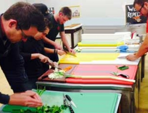 De nieuwe chef-koks van 't Staltheater